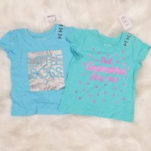 (2) The Children's Place Tees